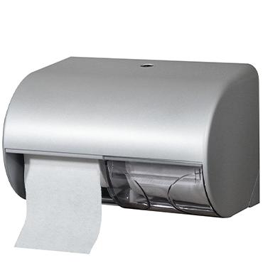 מתקן זוגי לנייר טואלט מפלסטיק