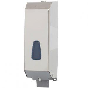 מתקן לסבון נוזלי 1.2 ליטר מנירוסטה