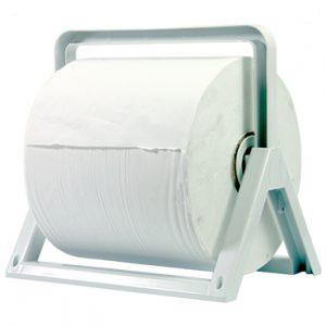 מתקן לנייר מגבת תעשייתי נתלה על קיר פלסטיק