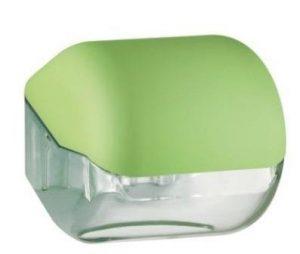 מתקן נייר טואלט יחיד – ירוק