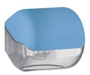 מתקן נייר טואלט יחיד – כחול