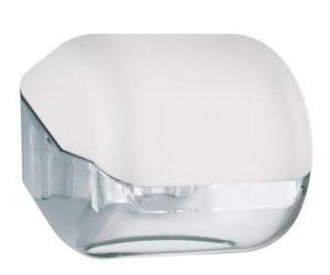 מתקן נייר טואלט יחיד – לבן