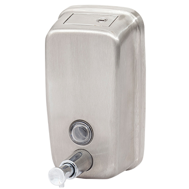מתקן נירוסטה קטן לסבון נוזלי