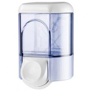 """מתקן לסבון נוזלי 350 סמ""""ק – שקוף"""