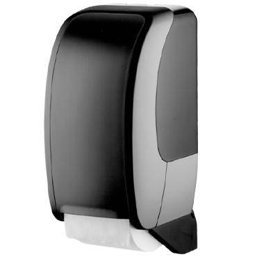 מתקן שחור לשירותים לטואלט