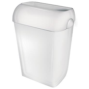 פח אשפה לבן 43 ליטר