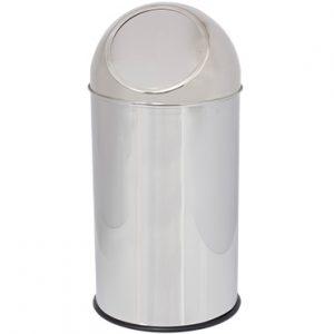 פח PUSH מנירוסטה 35 ליטר