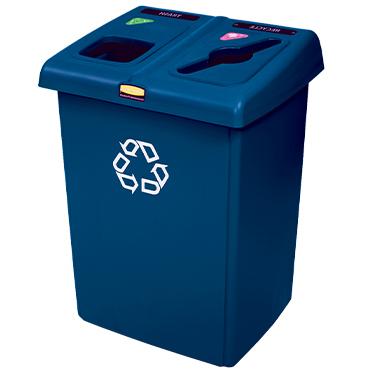 פח מיחזור פלסטיק גדול