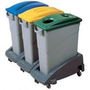 פח מיחזור צר פלסטיק