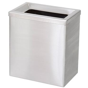 פח מלבני מנירוסטה 35 ליטר