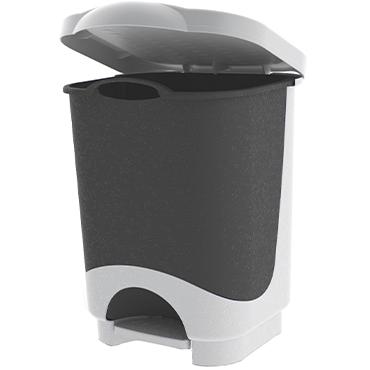 פח פדל פלסטיק 24 ליטר