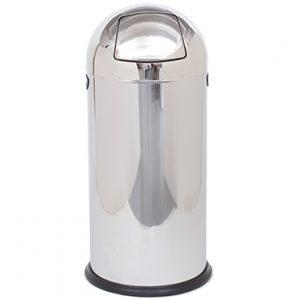 פח פגז מנירוסטה מבריק 52 ליטר