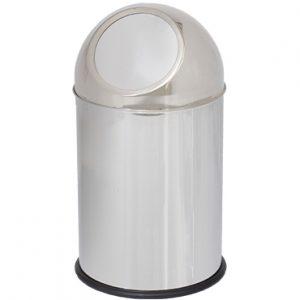 פח PUSH מנירוסטה 10 ליטר