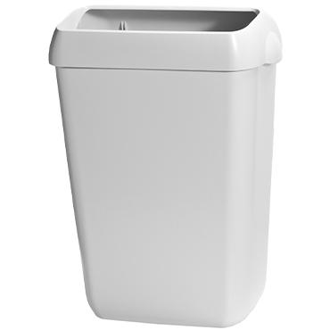 פח פלסטיק 43 ליטר לבן