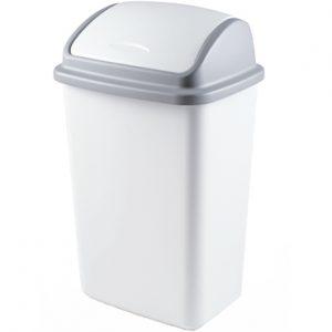 פח פליפ 50 ליטר – לבן