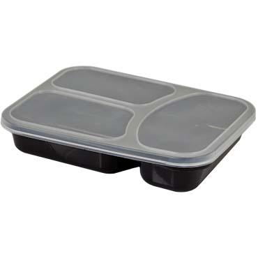 קופסאת פלסטיק מחולקת למזון