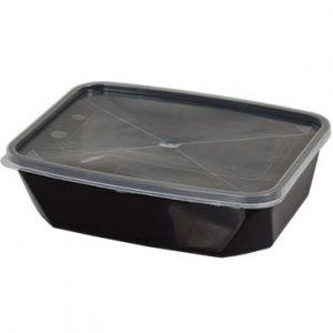 קופסא מלבנית שחורה 1 ליטר