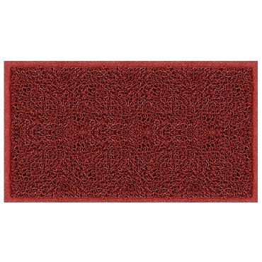שטיח כניסה ספגטי אדום