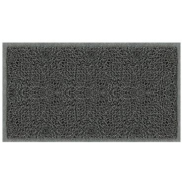 שטיח כניסה ספגטי אפור