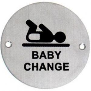 שלט – עמדת החתלה לתינוק