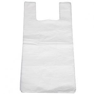 שקיות ניילון גופיה גדולות לבן