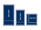 מפיות נייר מודפסות ומגוון מפיות ממותגות