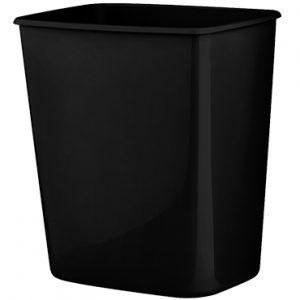 פח היגייני שחור 8 ליטר