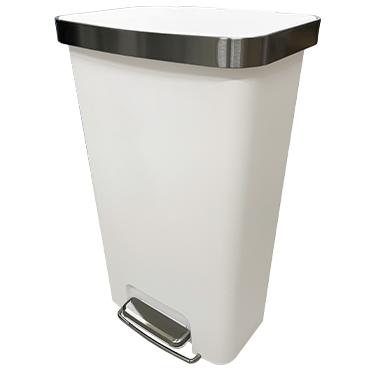 פח פלסטיק עם פדל 45 ליטר